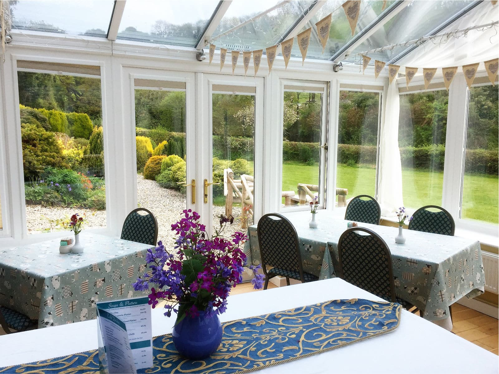 Conservatory View Polraen Country House