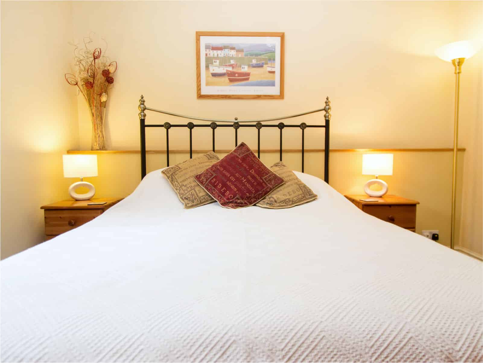 Kingfisher Bedroom Polraen Country House 3
