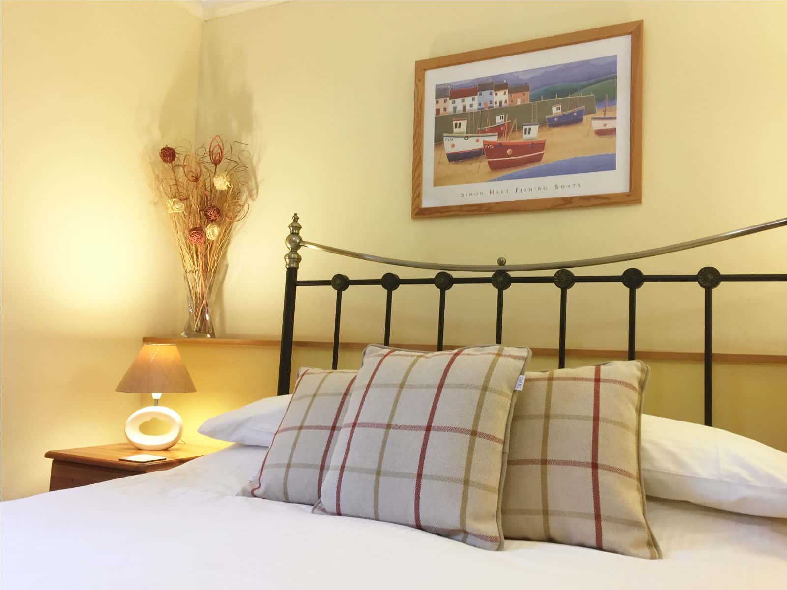 Kingfisher Bedroom Polraen Country House 4