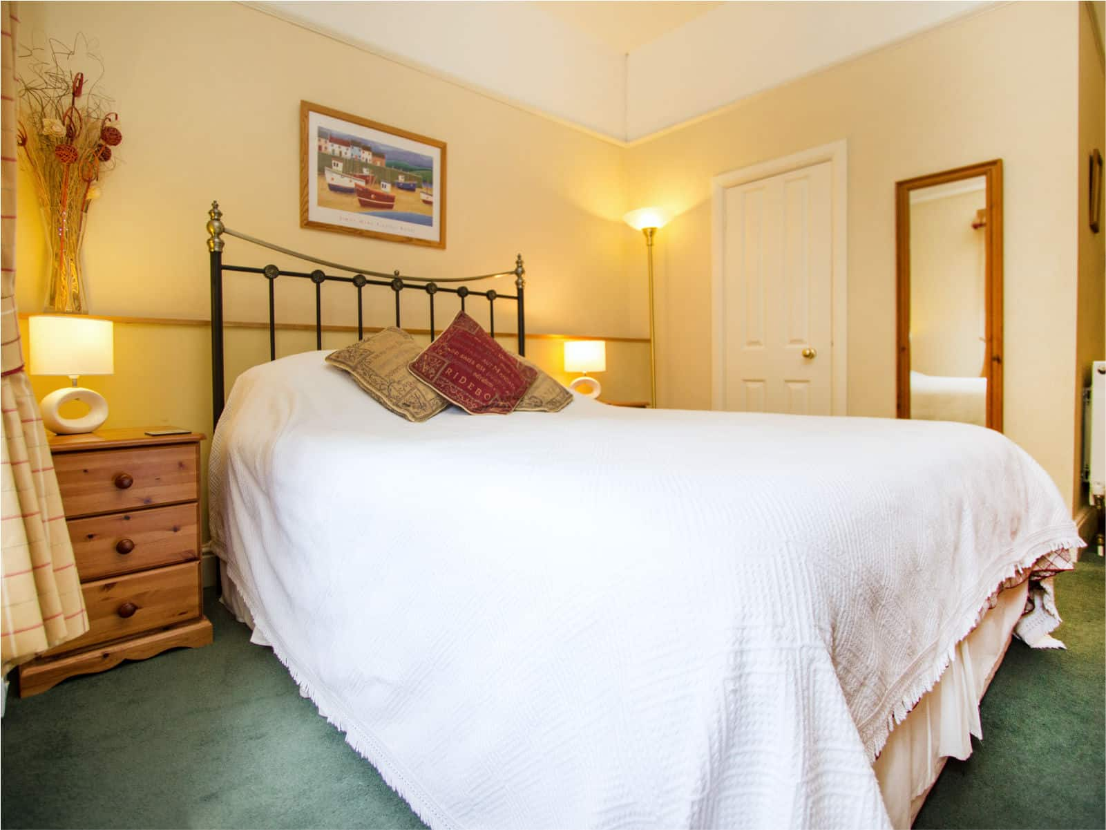 Kingfisher Bedroom Polraen Country House 5