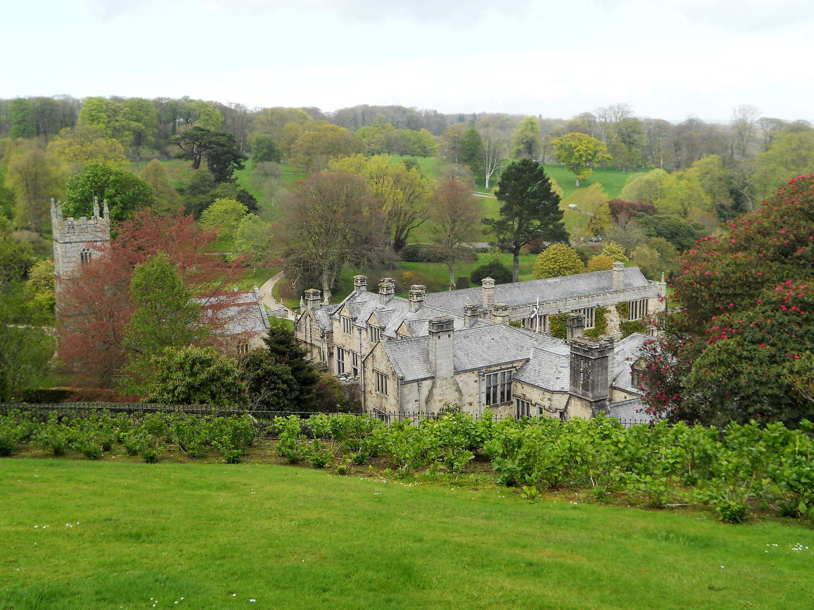 Lanhydrock Historic House and Garden on a day trip from Polraen