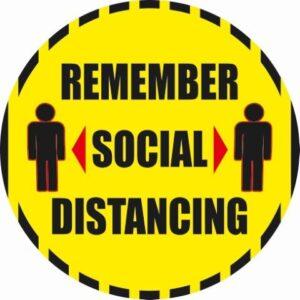 Remember Social Distancing