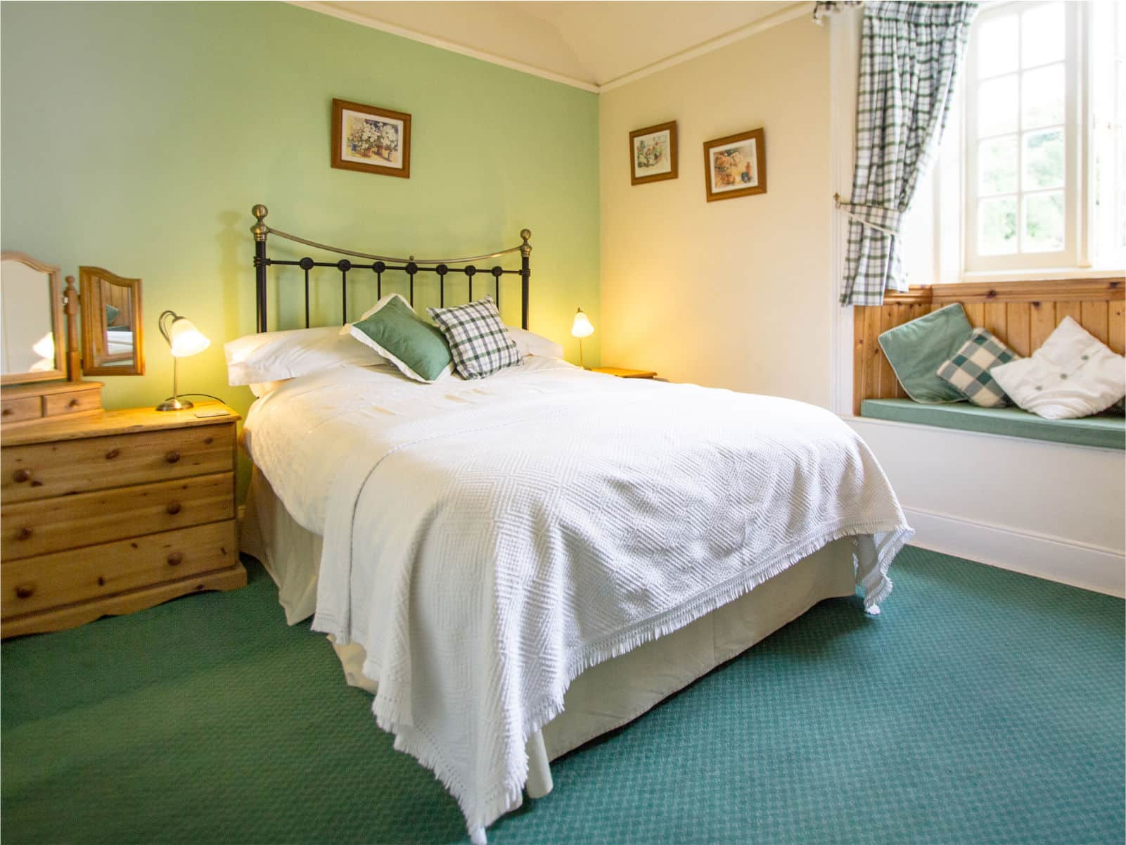 Willow Bedroom Polraen Country House 5