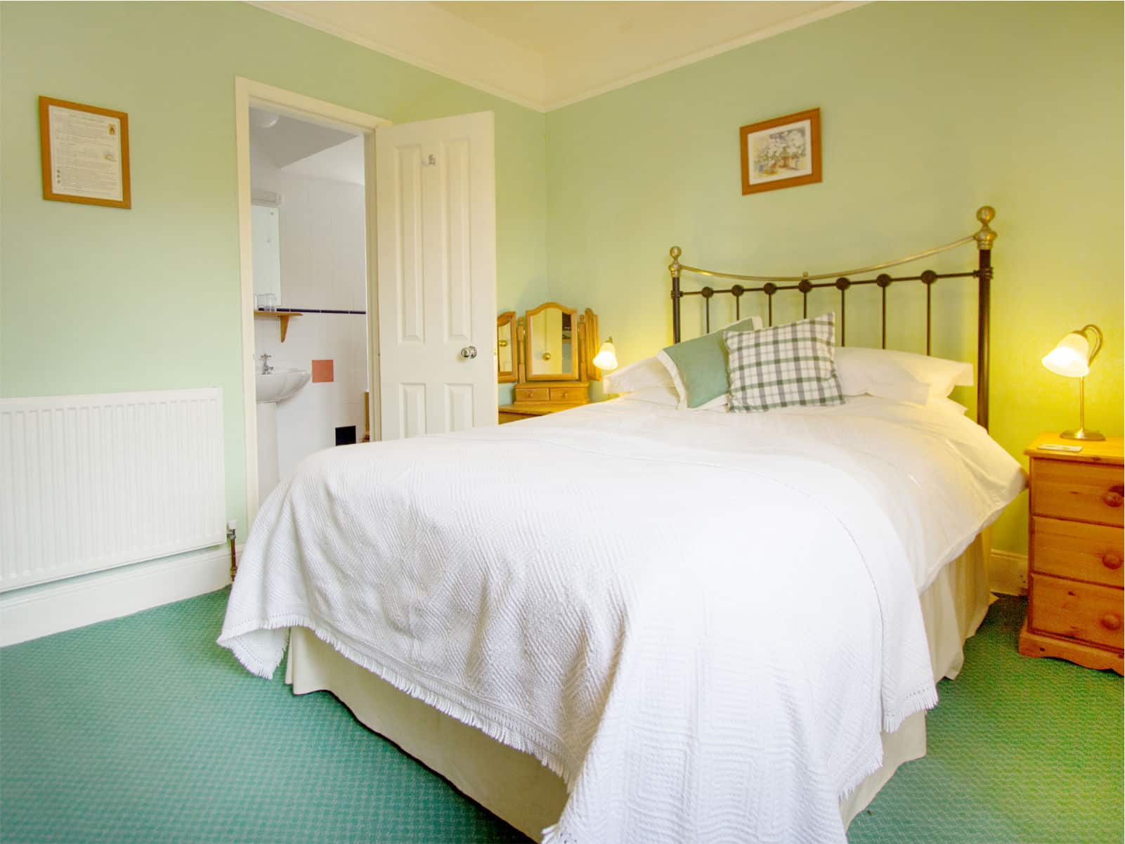 Willow Bedroom at Polraen Country House
