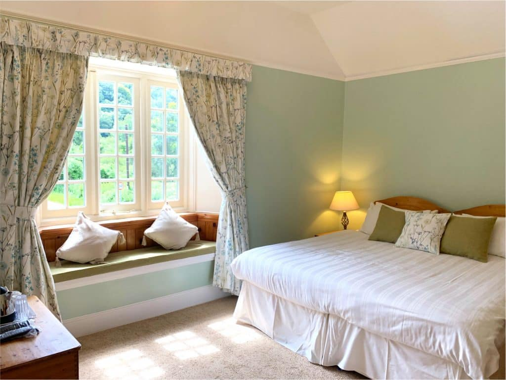 Wisteria Bedroom at Polraen Country House