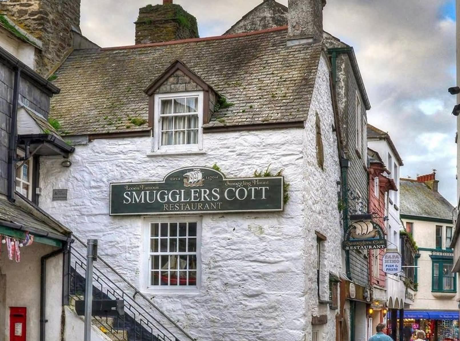 Smugglers Cott Restaurant in Looe Cornwall